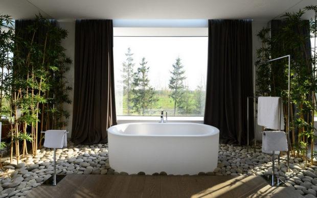 5 советов по дизайну ванной комнаты с окном + фото