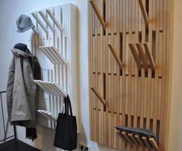 6 правил выбора вешалки для одежды в прихожую: настенные и напольные модели