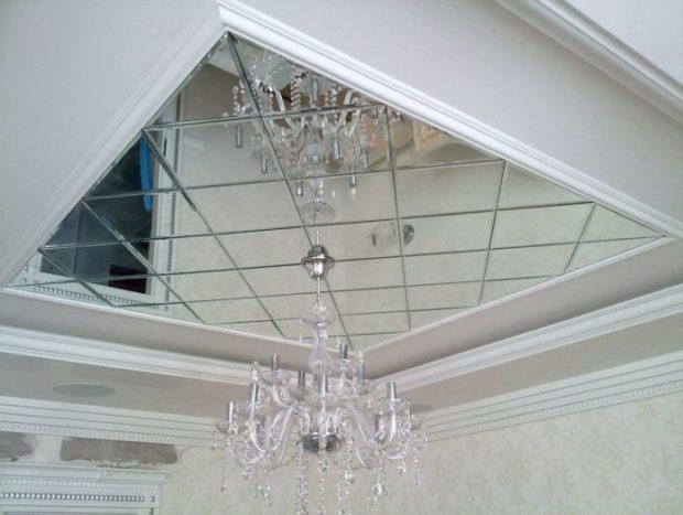 Зеркальная плитка в интерьере: 5 советов по применению фото