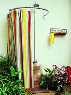 8 советов по обустройству летнего душа на даче своими руками