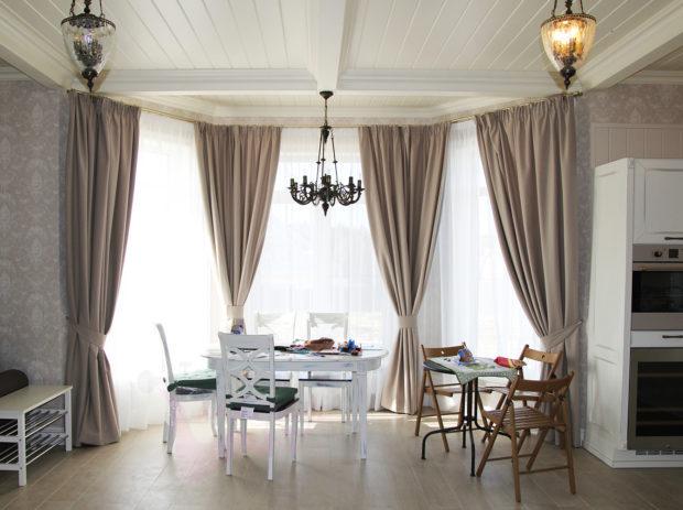 9 советов по дизайну комнаты с эркером + фото