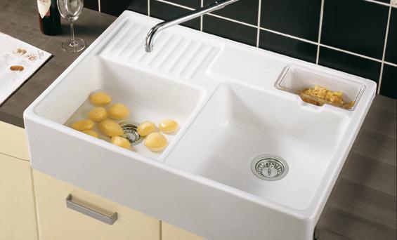 Керамическая мойка для кухни: 9 советов по выбору