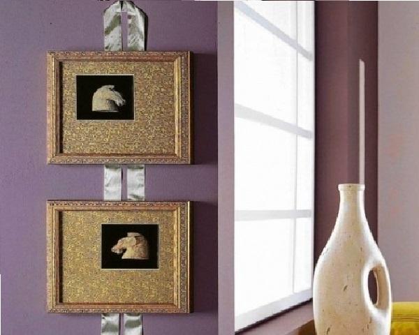 Декоративная лента для крепления фотографий к стене