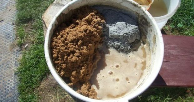 Песок в цементном растворе стоимость бетона курск