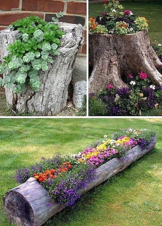 9 идей поделок из дерева для дачи и сада своими руками + фото