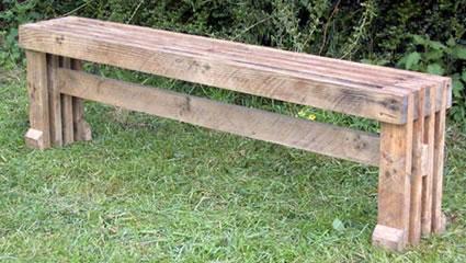 6 советов, как сделать садовую скамейку для дачи своими руками фото