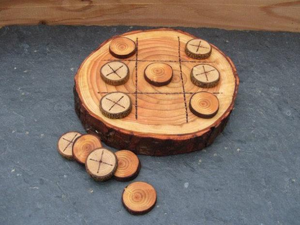 9 идей поделок из дерева для дачи и сада своими руками фото