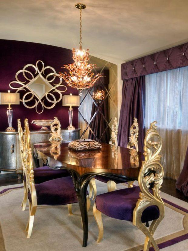 Стиль барокко в интерьере квартиры: 8 советов по созданию фото