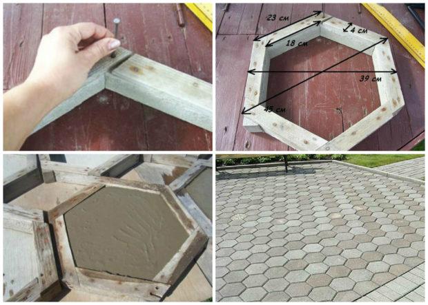 Особенности изготовления тротуарной плитки