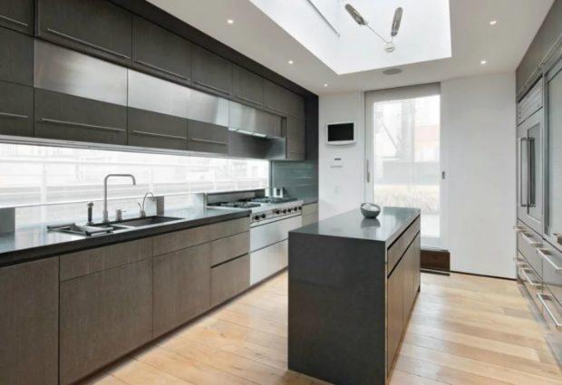 мебель минимализм на кухне