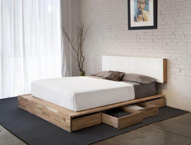 мебель минимализм в спальне