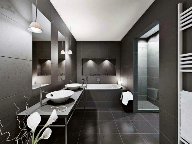 мебель минимализм в ванной