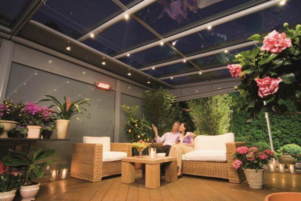 Фито-лампы для зимнего сада