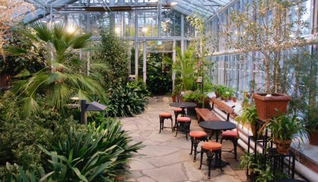 Выбор системы отопления зимнего сада