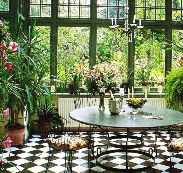 Главная задача зимнего сада – дарить эстетическое удовольствие