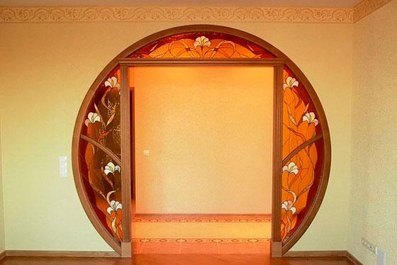 15 советов по оформлению дверного проема без двери фото