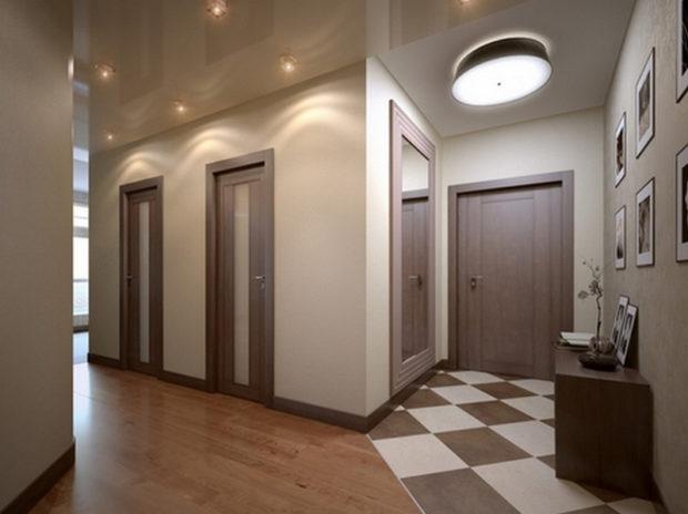 Выбираем напольную плитку в коридор: советы и фото