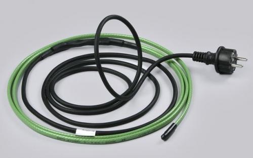 Греющий электрический кабель для трубопровода