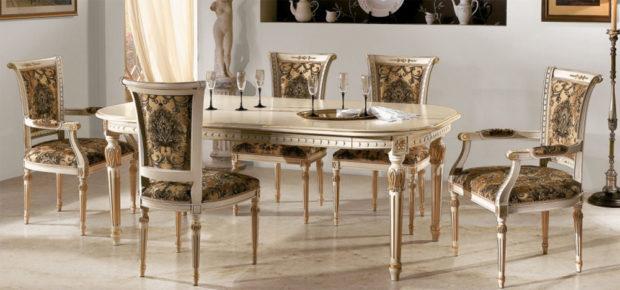 итальянская обеденная мебель