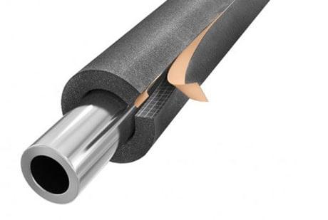 Вспененный каучук для утепления трубопровода
