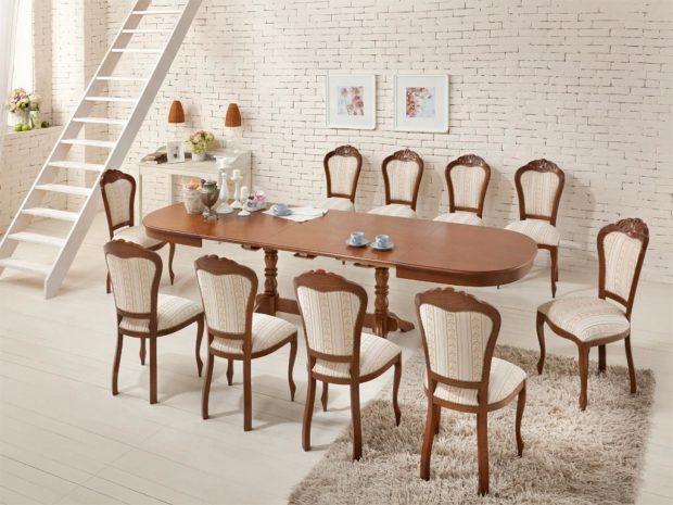 преимущества итальянской обеденной мебели