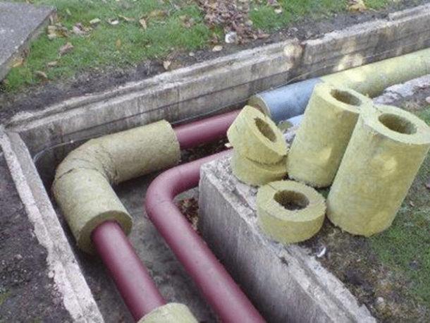Основные типы теплоизоляции труб