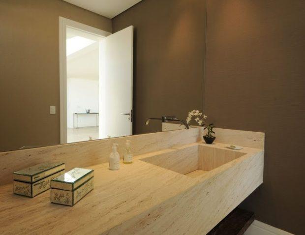 ТОП 11 изделий из травертина для интерьера и экстерьера дома