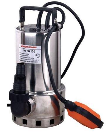Погружной насос для создания давления в трубопроводе