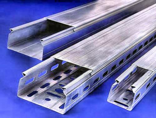 Кабель-канал из оцинкованной стали