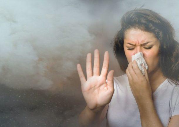 От чего зависит концентрация запаха гари?