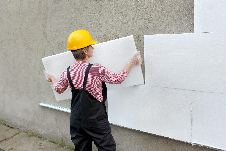 Как выбрать пенопласт для утепления фасада?