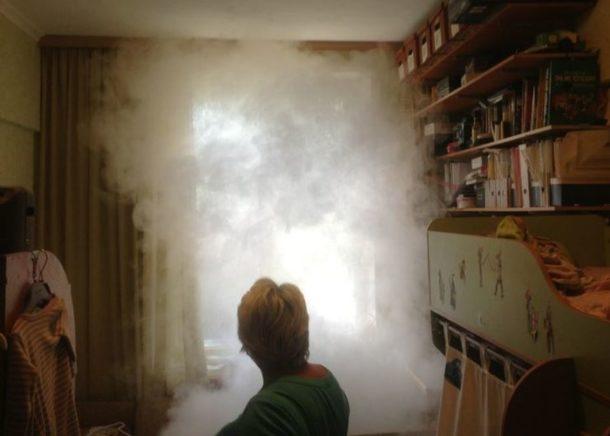 Народные способы устранения запаха гари