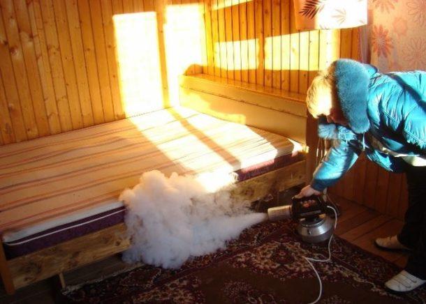 Борьба с запахом гари с применением оборудования