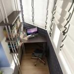 Балкон в стиле кабинета 1