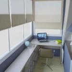 Балкон в стиле кабинета 3