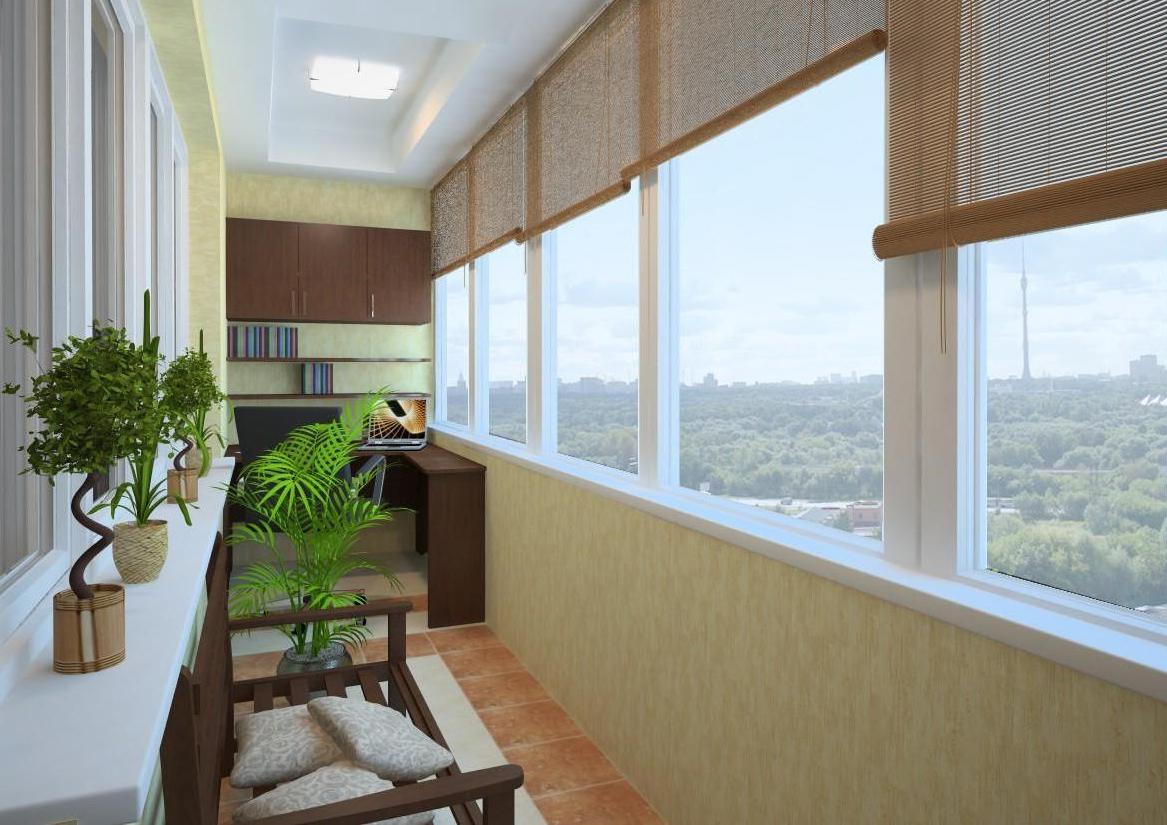 Интересные идеи отделки балкона (с фото)