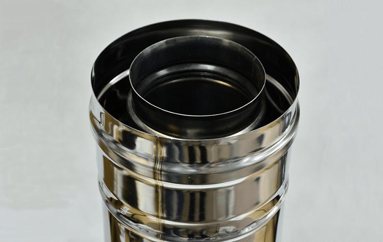 Дымоход из стальной трубы 5