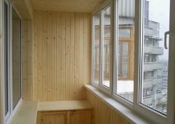 Финальная отделка балкона