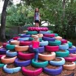 15 идей поделок из покрышек и шин для сада, огорода и дачи