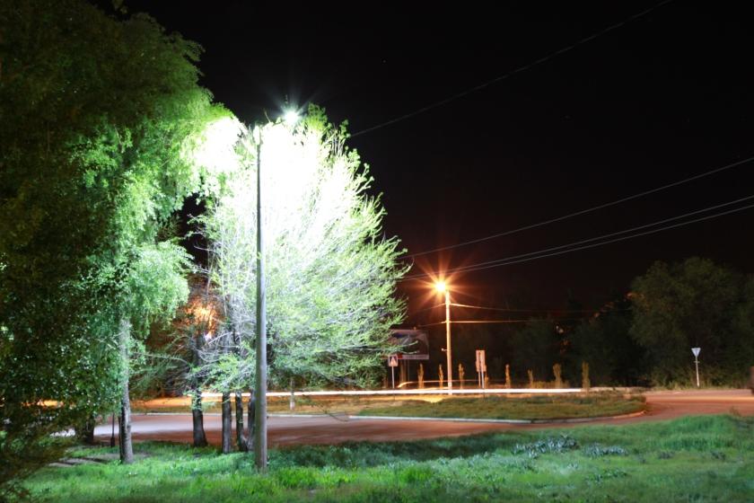 Светодиодный уличный светильник расчет 2