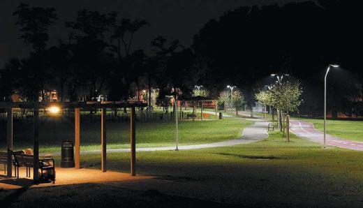 Светодиодный уличный светильник расчет
