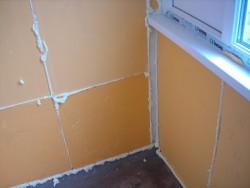 Утепление балкона экструдированным пенополистиролом 1