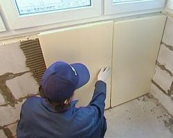 Утепление балкона экструдированным пенополистиролом 2