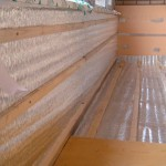 Утепление балкона фольгированным вспененным полиэтиленом 1