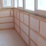 Утепление балкона пенопластом 1