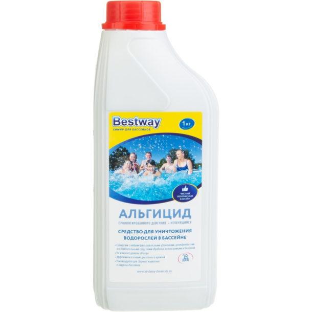 Альгицид для уничтожения водорослей в бассейне Bestway