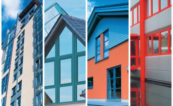 алюминиевые окна цвет 2