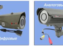 аналоговое видеонаблюдение и ip