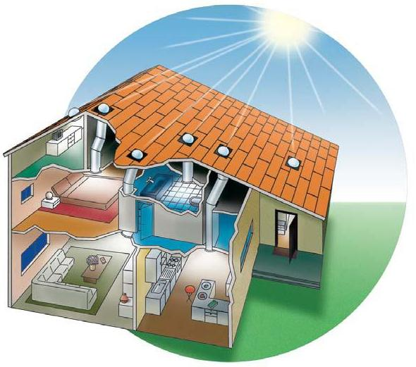 архитектурные решения для энергосберегающего дома 2