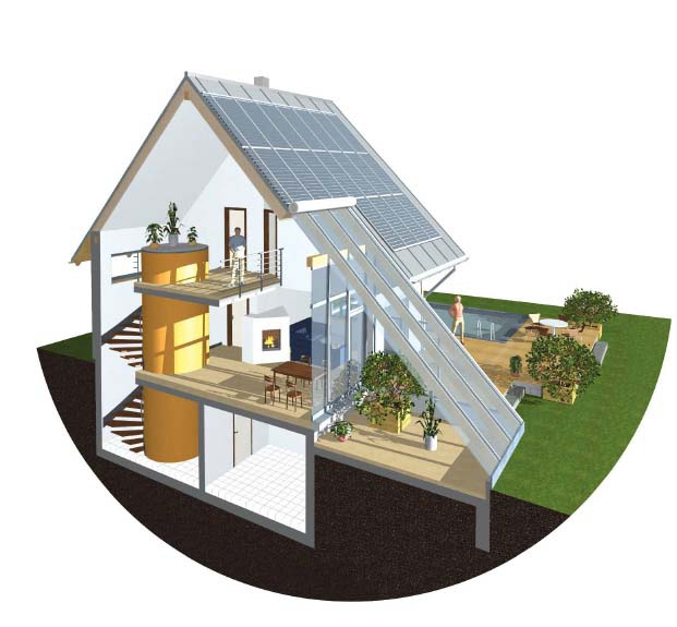 архитектурные решения для энергосберегающего дома